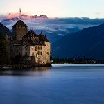 Château de Chillon blue hour