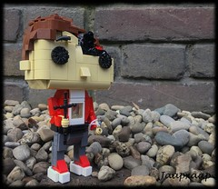 Personal POP!-figure (jaapxaap) Tags: lego jaapxaap moc pop popfigure figure brick personal red cross christian