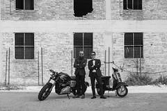 Working To Triumph GDR (Rocco Zafferano PH) Tags: triumph triumphgdr gdr bike road vespa italy matera basilicata vintage caferacer race trip