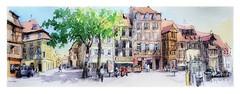 Colmar - Alsace - France (pl. Jeanne d'Arc) (guymoll) Tags: colmar alsace france jeannedarc aquarelle watercolour watercolor aguarela acuarela croquis sketch