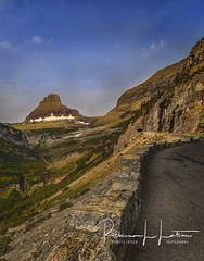 The Road Up To Logan Pass (rebeccalatsonphotography) Tags: road gtts goingtothesun mountin clementsmountain loganpass glacier np nationalpark glaciernationalpark mediumformat pentax 645z rebeccalatsonphotography
