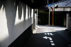 Digitalphotography/Arrow (yasu19_67) Tags: sonyα7ilce7 mckaleinar5n100mmf28 100mm sunlight shadow atmosphere alley xequalscolornegativefilms xequals filmlook filmlike filmfake digitaleffects osaka japan