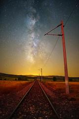 DSC07117 (lutfukacaran) Tags: samanyolu milyway milky way space uzay gece demiryolu trenyolu railway