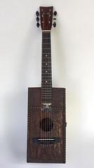 The Batman of Polynesia (Vincent Mattina (aka FLUX)) Tags: batman guitar polynesia box handmade folk