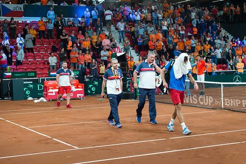Davis Cup Tennis: Jiri Vesely