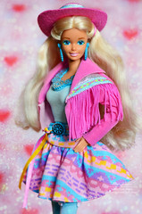 Western Fun Barbie (Lindi Dragon) Tags: barbie doll mattel nia kira marina superstar western 1989