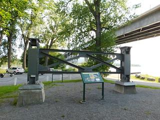 Piece of 1929 Lake Champlain Bridge