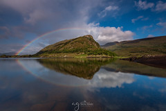 Eagle's Nest (Pastel Frames Photography) Tags: killarney national park eagles nest view stunning moment lovenature loveireland rainbow canon5dmark3 canon1635mm travel travelphotography landscape landscapephotography water reflections clouds sky mountains upper lake