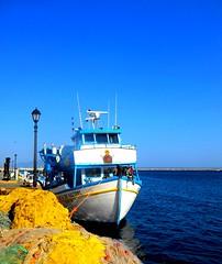 Nets and fishing boat at Kalymnos / Της Παναγιάς το καΐκι στην Κάλυμνο (Ath76) Tags: κάλυμνοσ παναγία καικι δίχτυα ψαράδεσ ιχθυόσκαλα δωδεκάνησα αιγαίο ελλάδα europa europe mediterranean mediterraneo méditerranée mittelmeer medelhavet aegean sea islands greek isole greche iles greece grecia grèce griechenland grekland dodecanese dodécanèse dodecaneso kalymnos fishing boat nets fisherman madonna virgin mary