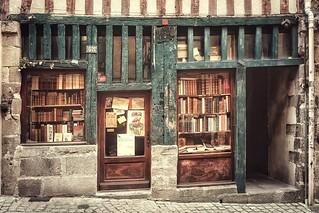 La librairie....