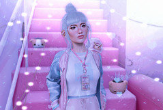 Blue Bubblegum (Bambi Joyce) Tags: rama halfdeer sallie pixicat lamb random matter tsg pygmy puff pumec sl secondlife pink pastel kawaii babygirl cuties fashion photography photoshop lights bbg blue bubblegum cotton candy mba ootd lotd lookbook