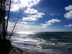 sea (Darek Drapala) Tags: sea seashore seascape baltic blue sky skyskape nature panasonic poland polska panasonicg5 lumix light landscape