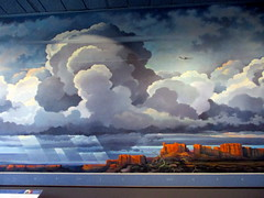 IMG_9173 (Autistic Reality) Tags: mural painting earthflightenvironment art earthflightenvironmentmural ericsloane sky interior inside indoors museum usa us dc america si smithsonian institution smithsonianinstitution washingtondc washington district columbia districtofcolumbia unitedstatesofamerica unitedstates nationalairandspacemuseum airandspacemuseum nasm sinasm boeingmilestonesofflighthall milestones flight boeing milestonesofflight hall cityofwashington building architecture structure atmosphere