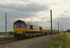 Engineers (DieselDude321) Tags: 66074 class 66 db dbs schenker cargo ews 6n70 1340 belmont down yard tyne sorting sidings thorntonlemoor south northallerton