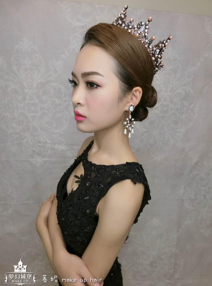 【新秘蓁妮】新娘造型創作 / 女王氣勢風格造型