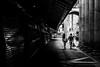 IMG_5934 (aclapes) Tags: couple laboqueria market barcelona city streets street walking holdinghands streetphotography streetphoto canon 700d canonistas dslr blackandwhite bnw