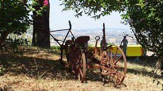 Old machine farm