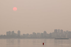 Smokey Sunrise (Michael Thornquist) Tags: bcwildfires2017 bcwildfires smoke englishbaybeach jerichobeach beach sand sunrise englishbay clouds vancouver britishcolumbia dailyhivevan vancitybuzz vancouverisawesome veryvancouver 604now photos604 explorecanada ilovebc vancouverbc vancouvercanada vancity pacificnorthwest pnw metrovancouver gvrd canada