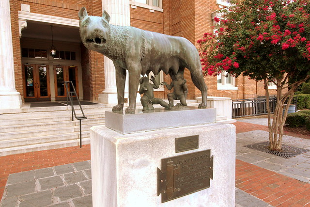 Capitoline Wolf Replica - Rome, GA