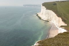 Seven Sisters Walk | Hazy August Bank Holiday-24 (Paul Dykes) Tags: southdownsway eastsussex sussex england uk sevensisters cliffs whitecliffs sea coastal seaside coast summerbankholiday augustbankholiday august 2017