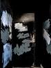 Daub (Steve Taylor (Photography)) Tags: daub light black grey white door paint newzealand nz southisland canterbury christchurch cbd city texture coverup paintover