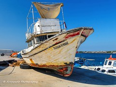 Fishing Boat (Oktay A) Tags: fishingboat nxmini güre port pier liman hdr