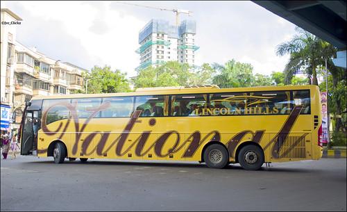 National Travels Sanam Volvo B11r In Mumbai A Photo On