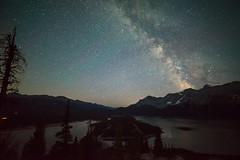 Kananaskis Lakes (SubOrbitalBen) Tags: alberta kananaskis milkyway nikon nikond750 d750 stars astrophotography banff rockies canmore camping rokinon samyang 14mm