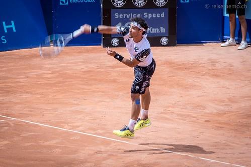 Fabio Fognini - Fabio Fognini am J. Safra Sarasin Swiss Open Gstaad