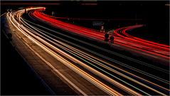 Fernverkehr auf der Autobahn / On the highway (ludwigrudolf232) Tags: verker autobahn autos