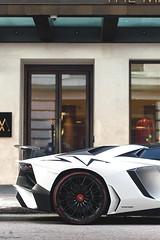 Veloce (Mattia Manzini Photography) Tags: lamborghini aventador sv superveloce supercar supercars car cars carspotting nikon v12 white carbon automotive automobili auto detail