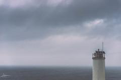 Nubes y faros (PiTiS ¬~) Tags: nubes clouds lighthouse faro galicia galiza galizia cielo sky zerua mar sea ocean minimalismo minimalist abstract abstracto minimalista minimal nikon d610