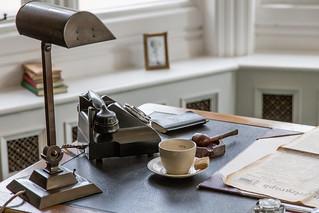 Commander Denniston's Desk