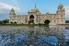 The Victoria Memorial Kolkata (kartik747) Tags: kolkata reflection water rain landmark incredibleindia canon travel