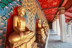 Wat Pho temple in Bangkok. Thailand.