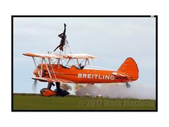 Scampton 2017 Breitling Wing Walkers 2 (Marks CVS) Tags: raf scampton 2017 airshow breitling wingwalkers boeing stearman biplane