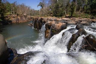 Tad Pasuam waterfall, Paksé, Laos
