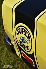 Black and Yellow (Hi-Fi Fotos) Tags: dodge superbee mopar vintage american musclecar classiccar graphics decal stripe black yellow detail nikon d7200 dx hififotos hallewell
