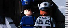 FINN AND ROSE UNDERCOVER (kyle.jannin) Tags: lego legostarwars legostarwarsthelastjedi star wars the last jedi thelastjedi finn rose disguise undercover thefirstorder imperial outfits legophotography episode viii