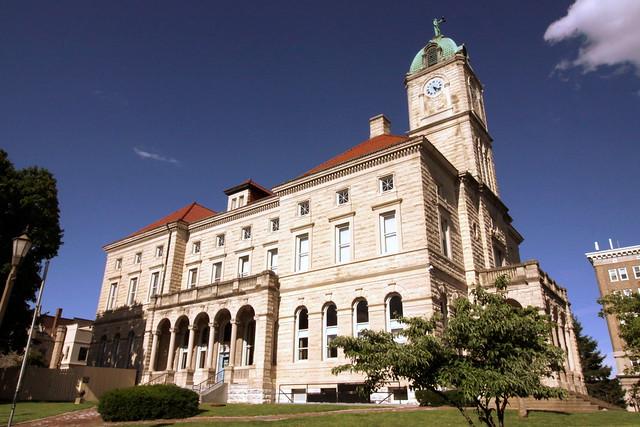 Rockingham County Courthouse (west side) - Harrisonburg, VA