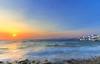 Il saluto di Persefone (Gio_ guarda_le_stelle) Tags: estate persefone sunset greece grecia seascape landscape tramonto summer wind breeze blue sea sky clouds nuvole nuances mito favola mykonos windyday sun περσεφόνη καλοκαίρι canon eos 1635 bastalego