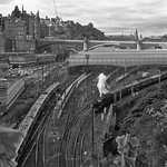 Stanier Black 5 44871 pulling out of Waverley