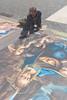 Il Madonnaro 03 (Promix The One) Tags: loretoan marche pittura gessetti artista colori sfumature pennelli pietã spugna attrezzi raffigurazione piazza grafica madonnaro mano lavoro canoneos1dsmarkii canonef1635f4lisusm pietà