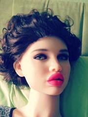 Mannequin (capricornus61) Tags: display mannequin shop window doll dummy dummies figur puppe schaufensterpuppe art home face body woman women female feminine indoor beauty tpe realdoll lifesize