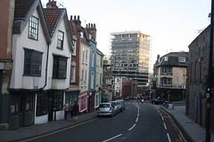 Colston Street (lazy south's travels) Tags: bristol avon england english britain british uk building architecture urban street scene city center centre
