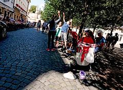 Prague (kirstiecat (on vacation...)) Tags: prag prague praha czechia czech kids shadows happiness light moment cinematic energy positive people street canon