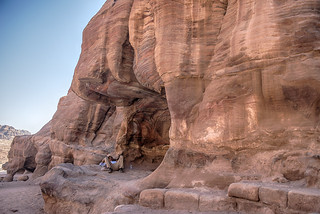 Resting in Petra