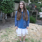 Scarlett's first day of seventh grade thumbnail