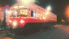 (sftrajan) Tags: streetcar muni night filter 17thstreet thecastro 94114 sanfrancisco pcc historicstreetcar strasenbahn tranvįa tranvía nuit notte noche nacht noite