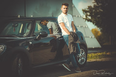 Model: Cherno (DeanB Photography) Tags: model deanb hannover expo mann boy shooting modelshooting bmw mini auto pyramide fashion canon bart people portrait